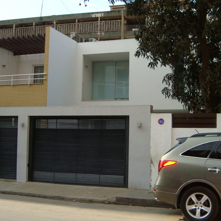RuaEmílioM'Bindi 街上的家庭住宅