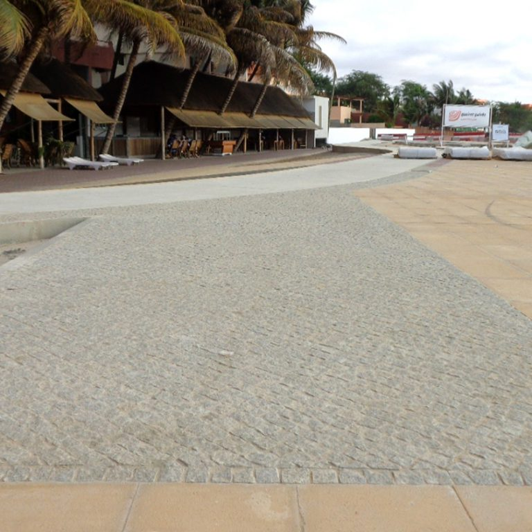 Praia da Nicha 海滩的再生